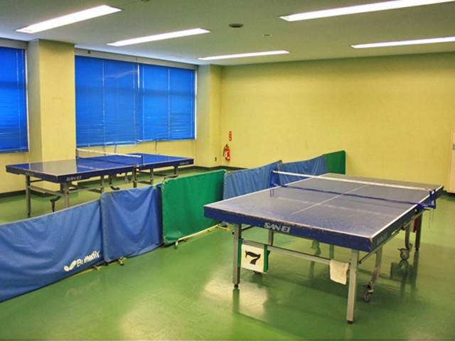 小体育室(卓球場)